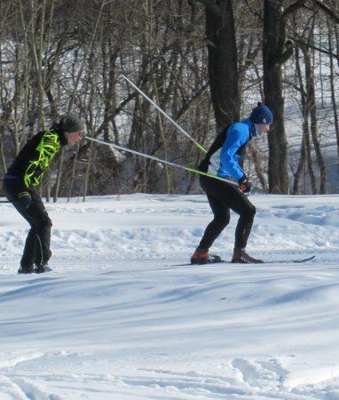 Лыжные тренировки